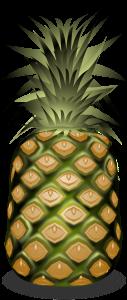 Ananas auf Thailändisch