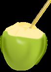 Kokosnuss auf Thailändisch