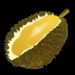 Stinkfrucht (Durian) auf Thailändisch