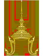 Kopfschmuck auf Thailändisch