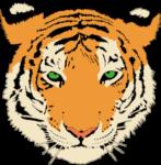 Tiger auf Thailändisch