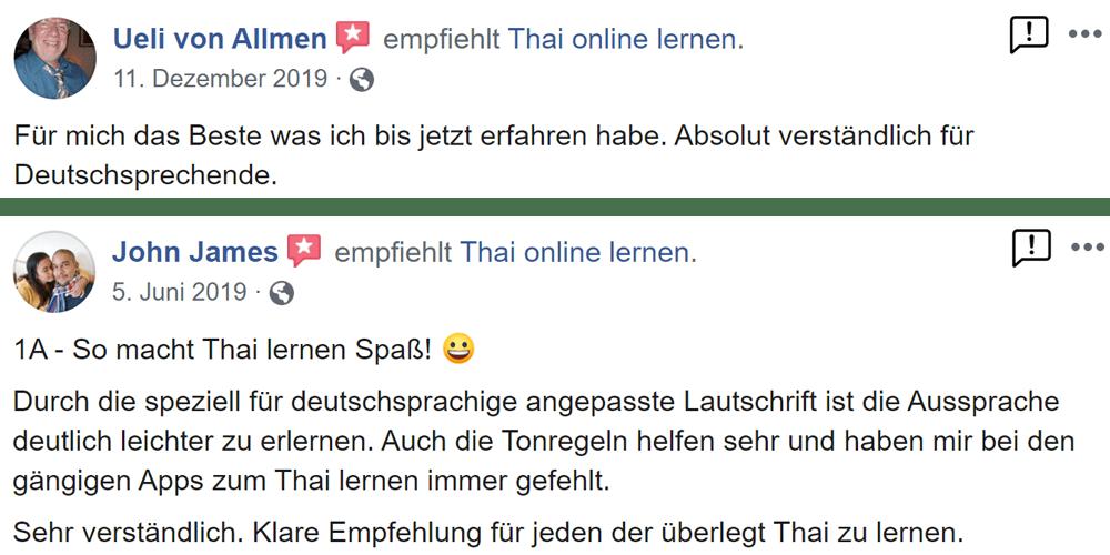 Bewertung 2 von Thailernen.net